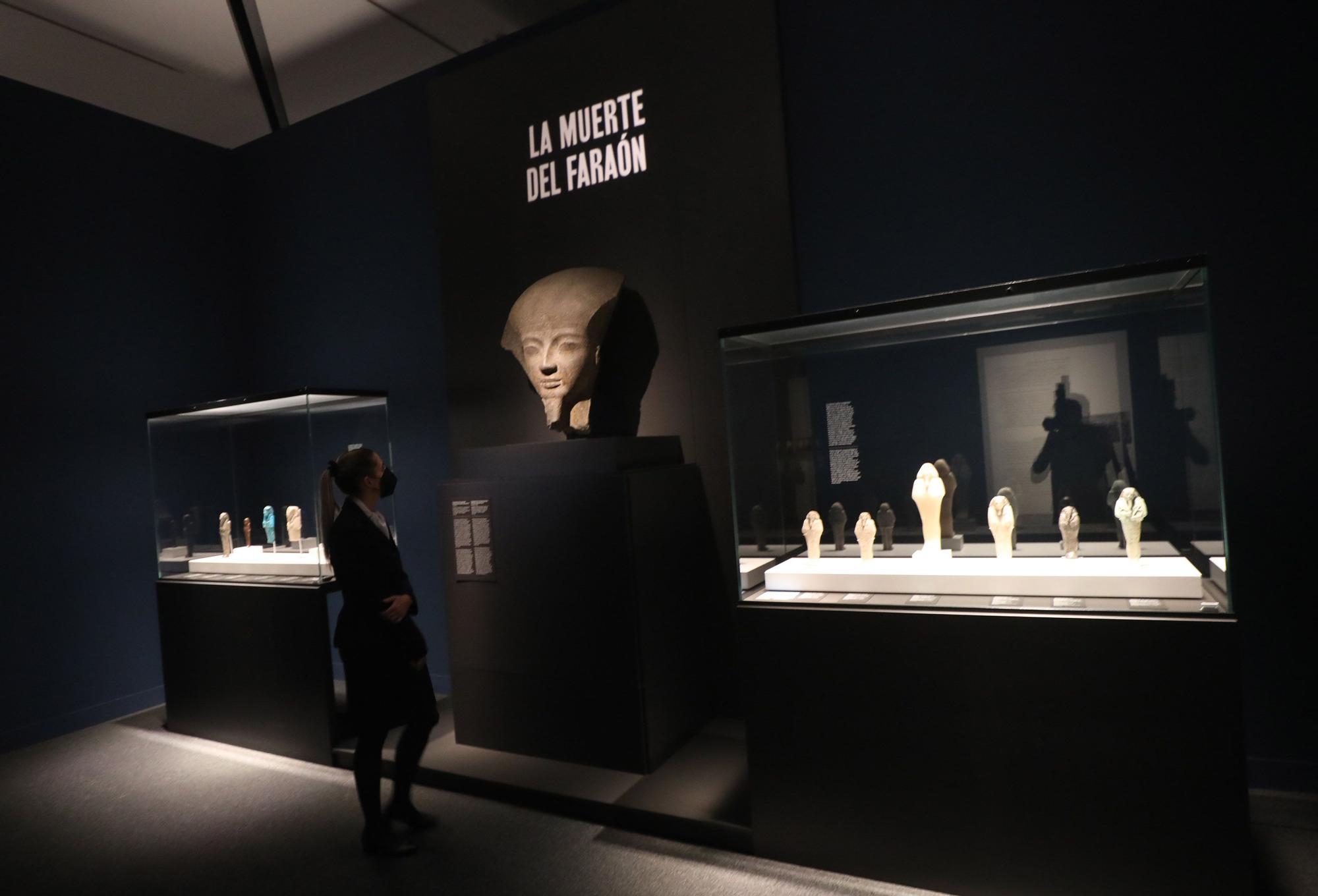 Exposición 'Faraón. Rey de Egipto'