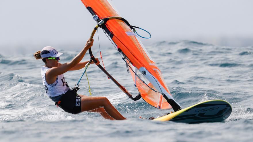 Blanca Manchón se queda fuera de la Medal Race al terminar undécima en la general