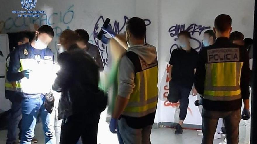 Detenidos siete miembros de una banda dedicada a robos en viviendas de Palma