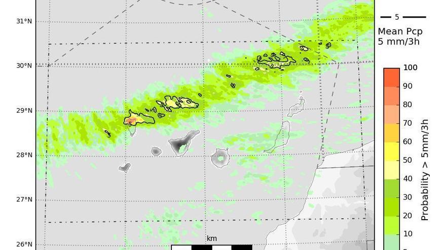 El tiempo no da tregua : Clement trae lluvias intensas y viento a Canarias