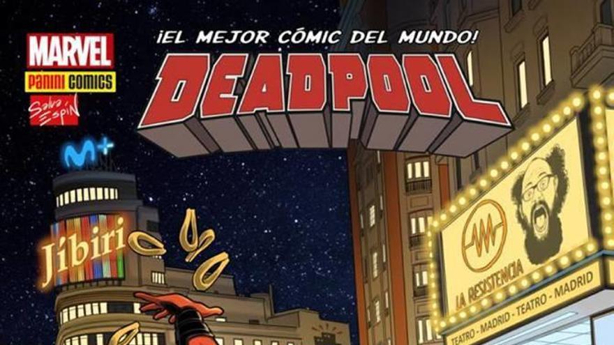 El cómic de Salva Espín con Deadpool y La Resistencia, mañana con LA OPINIÓN