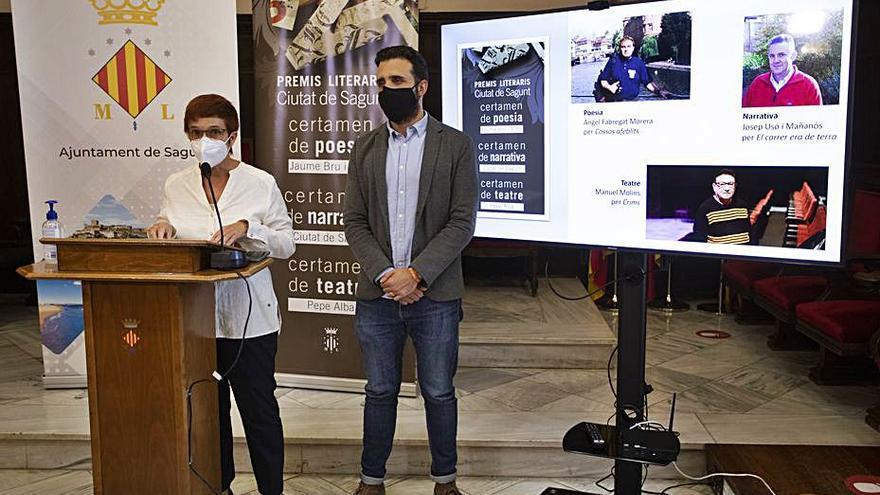 Manuel Molins, Josep Usó i Àngel Fabregat, Premis Ciutat de Sagunt