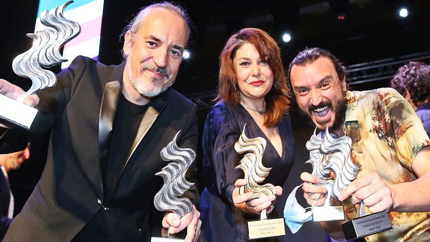 «Amigo»,  la película de Óscar Martín, gana la Tesela de Oro del Festival de Cine