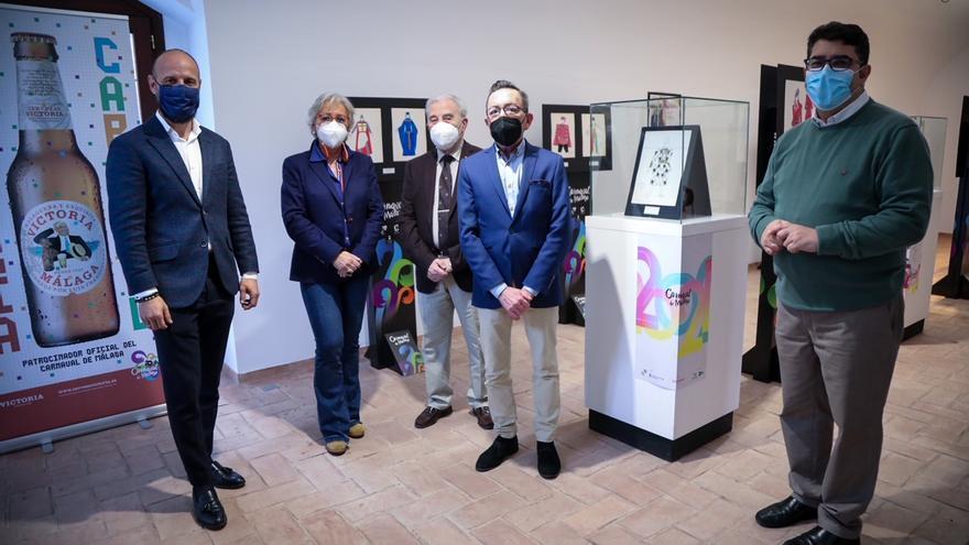 32 diseños históricos del Carnaval de Málaga dan vida a la exposición 'Fantasías en Papel'