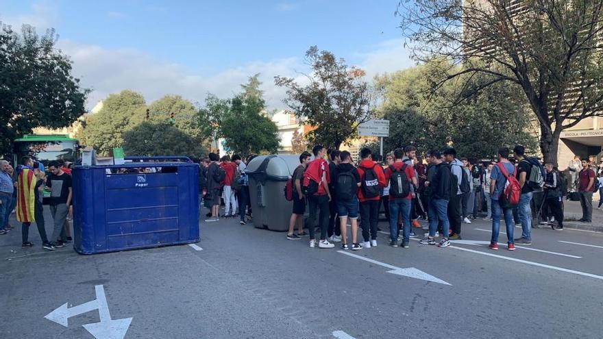 Respostes a la sentència: centenars de persones es manifesten a Manresa contra la sentència