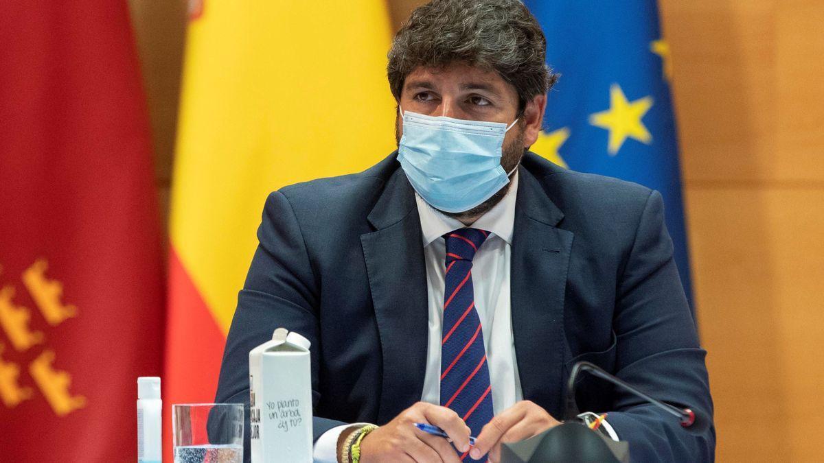 Una imagen de López Miras.