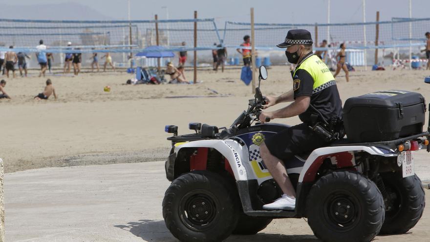 La Noche de San Juan en València deja 1.084 incidentes, más de la mitad sanitarios