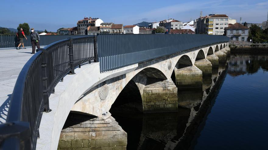 El PP critica que el Concello reformó el puente de O Burgo sobre terrenos privados