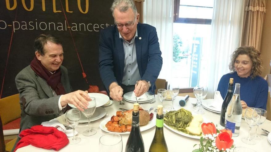 La V Festa do Botelo reúne en Vigo a 180 comensales