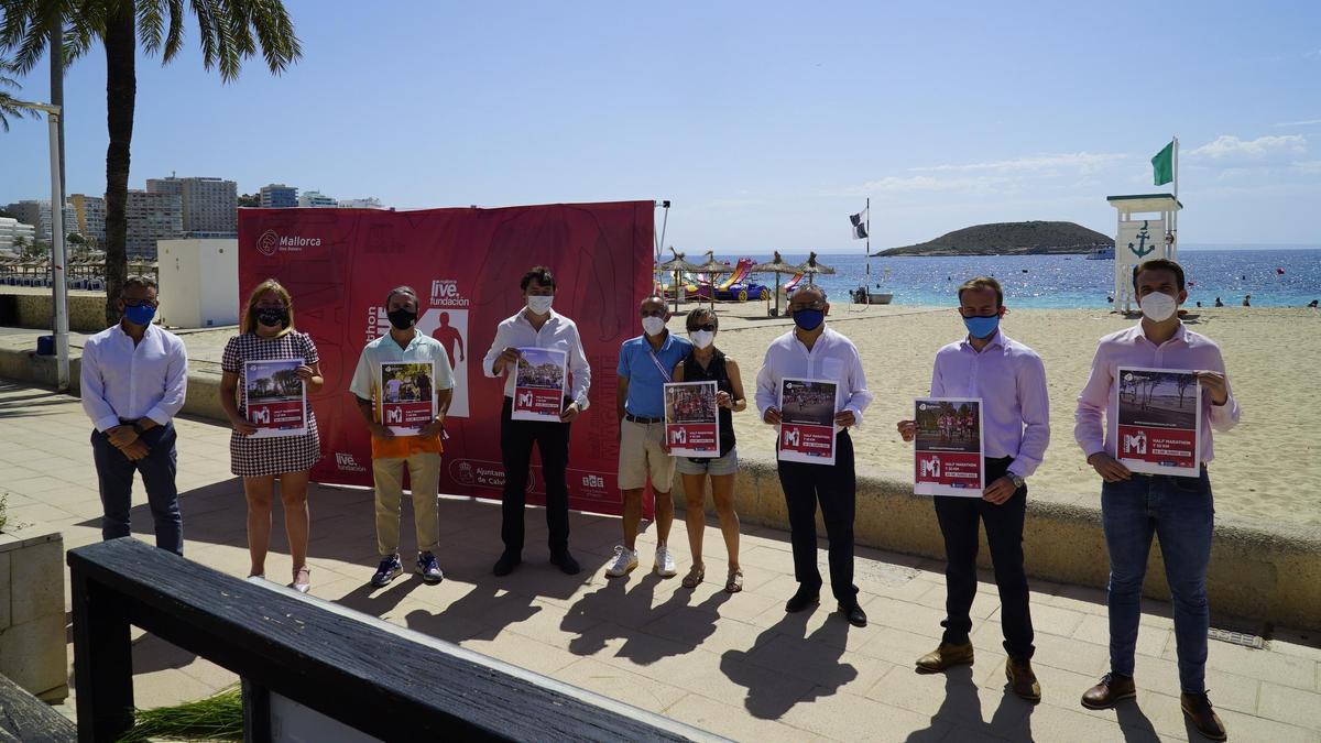 Presentación de la Half Marathon Magaluf.