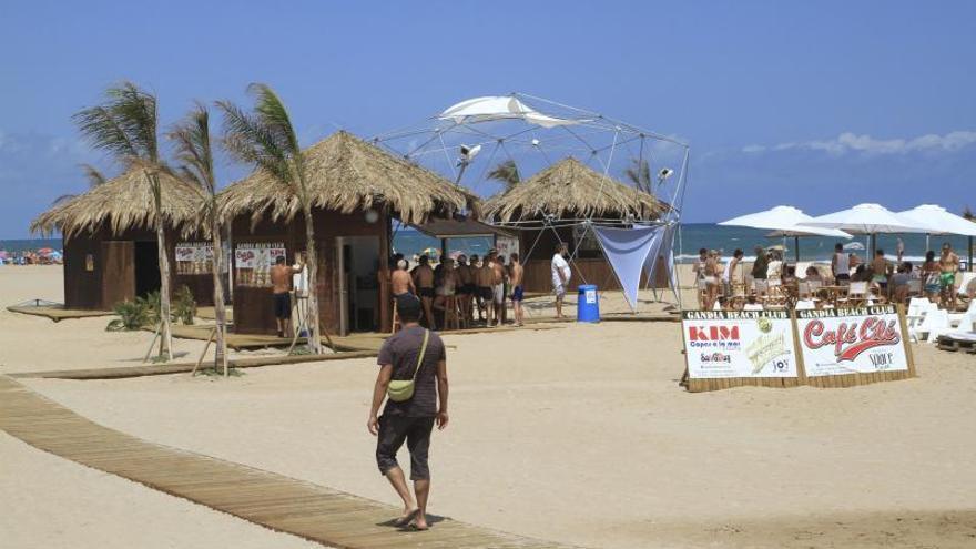 Gandia tendrá la primera playa de chiringuitos sostenibles
