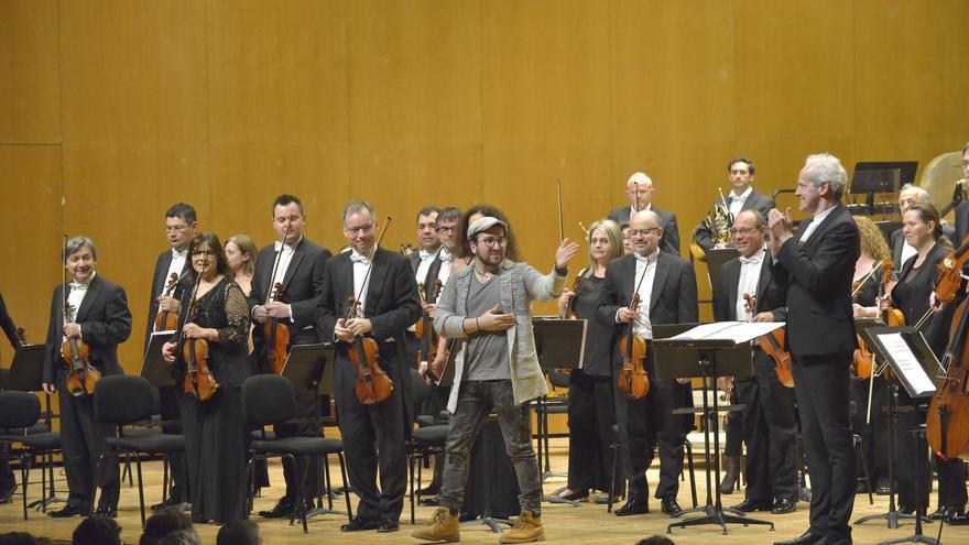La Real Filharmonía de Galicia estrena la obra de un arousano