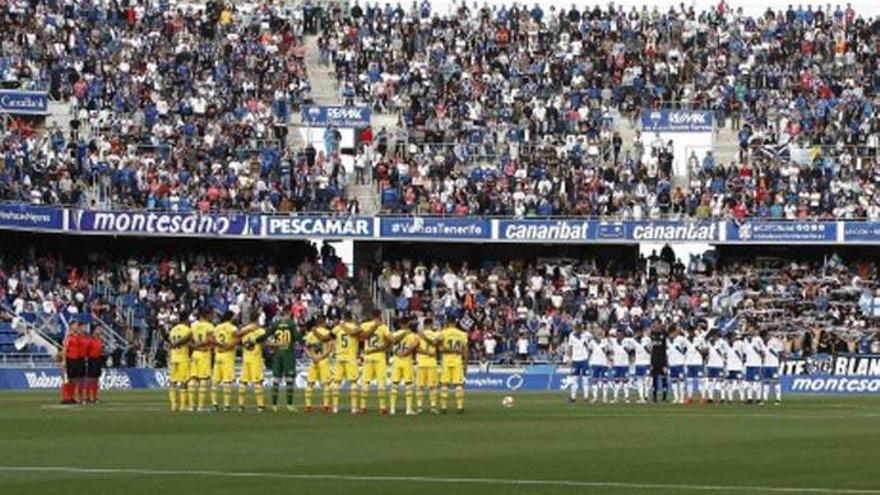 El Tenerife y Las Palmas acuerdan repartir la taquilla si hay derbi con público