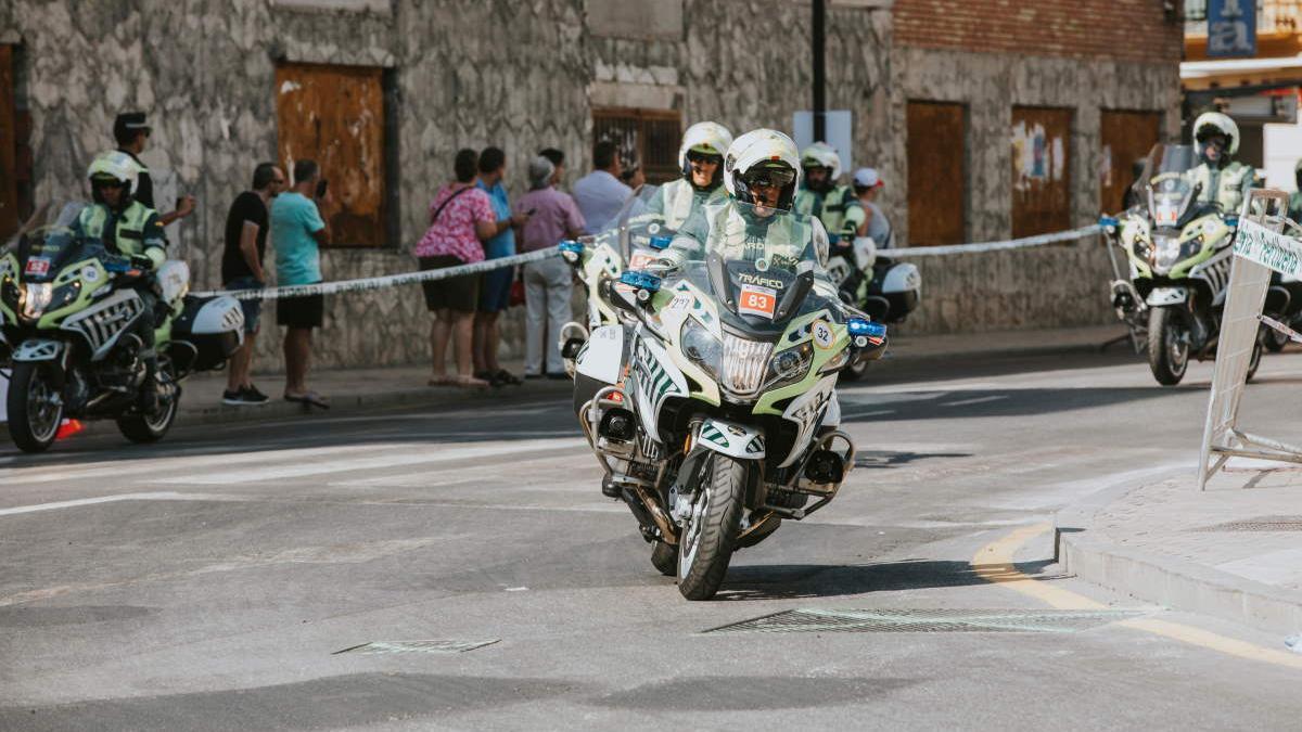 Motocicletas de la Guardia Civil, en una imagen de archivo.