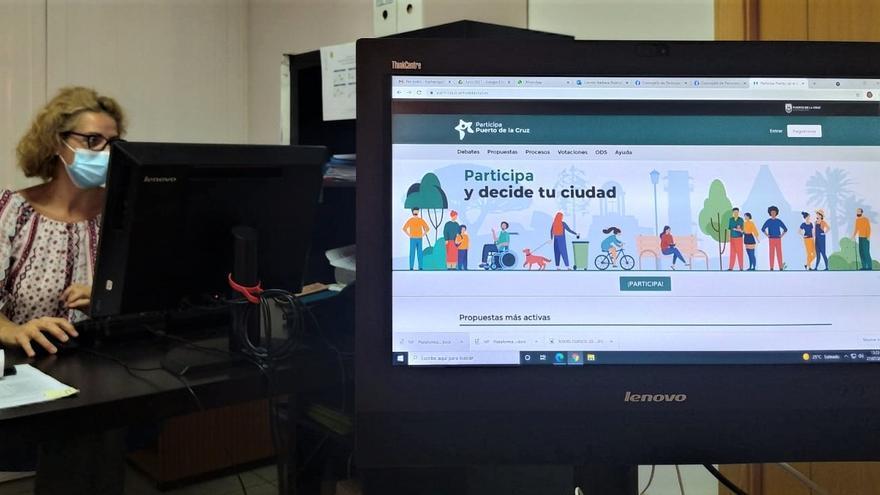 Puerto de la Cruz estrena su plataforma de participación ciudadana