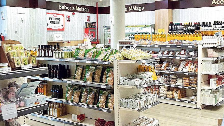La tienda online de Trops apuesta por los productos y alimentos malagueños