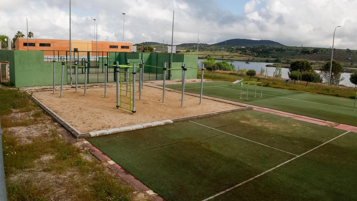 Estado actual de las instalaciones deportivas de El Prado.