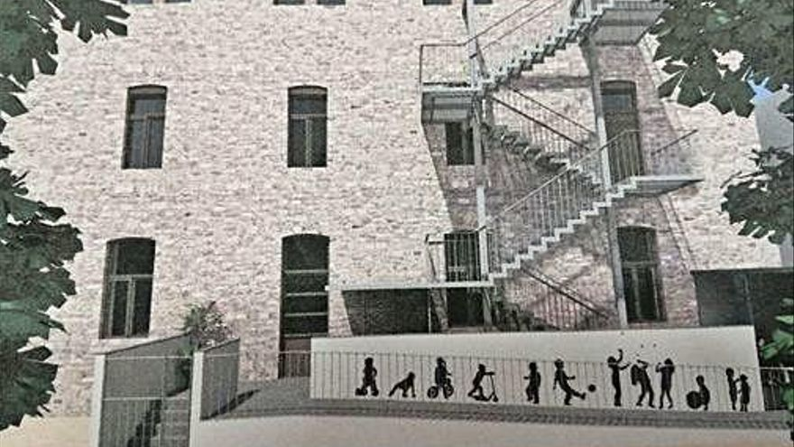 Santa Coloma reformarà l'edifici de Ca les Monges per ubicar-hi l'escola d'adults