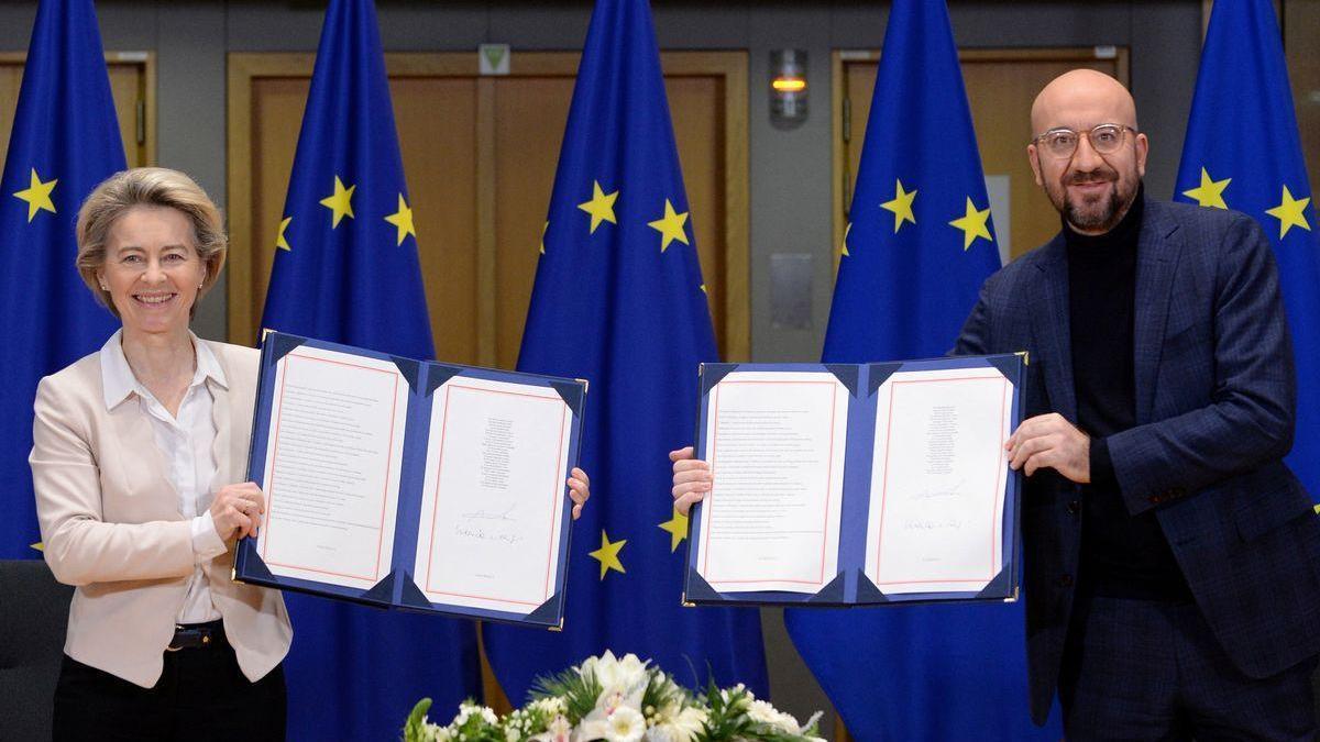 La UE y el Reino Unido firmarán este miércoles su acuerdo postbrexit