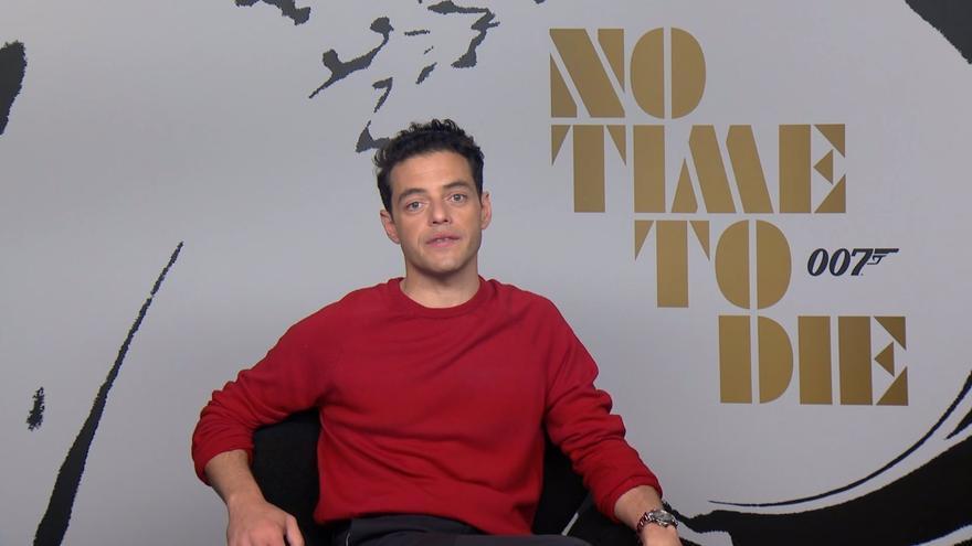 """Rami Malek, sobre 'Sin tiempo para morir': """"Ha sido un reto"""""""