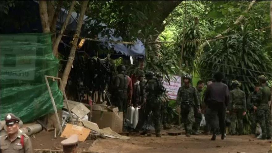 """Los niños atrapados en la cueva de Tailandia: """"Todos somos fuertes"""""""