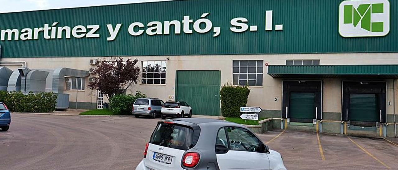 Las instalaciones de Martínez y Cantó en Novelda.  | ÁXEL ÁLVAREZ