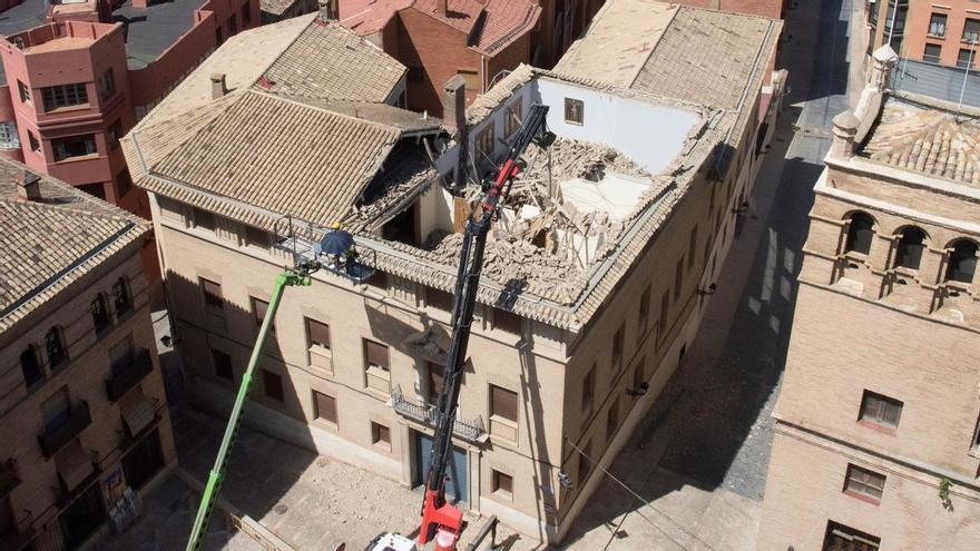 El edificio del Obispado de Huesca reabrirá de forma parcial este jueves