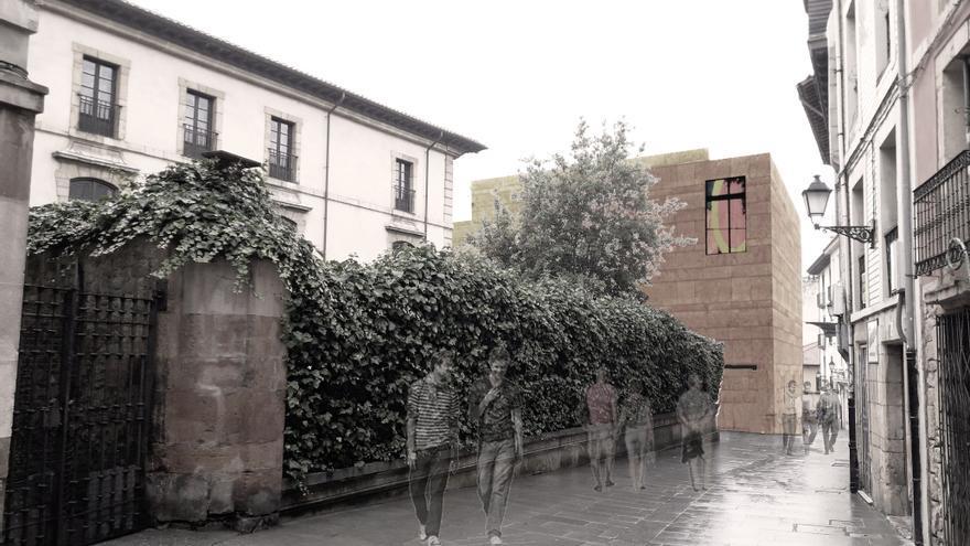 Así será el nuevo centro cultural diseñado por la Iglesia para el martillo de Santa Ana en Oviedo