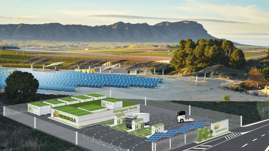 Iberdrola impulsa en la Región un proyecto para la generación de hidrógeno verde