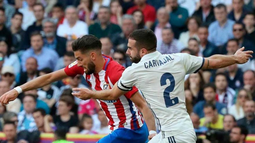 El Madrid viaja hoy a Munich con la duda de Carvajal