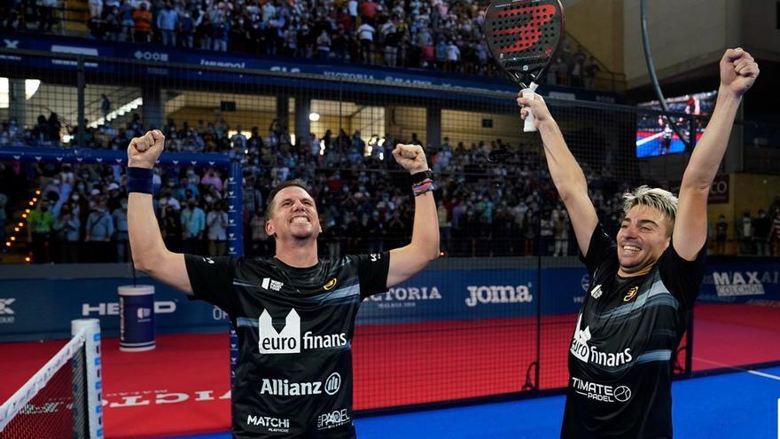 El World Pádel Tour Córdoba ya tiene nuevos campeones