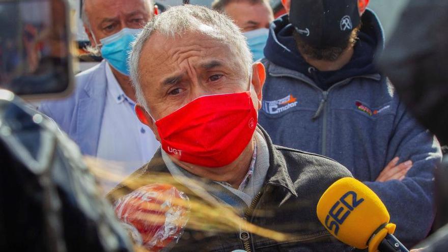 """Pepe Álvarez: """"Los ERTE durarán mientras dure la pandemia"""""""
