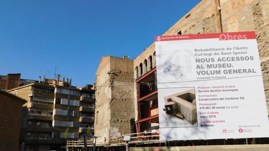 Acceptació d'una subvenció d'1,8 milions per al museu del barroc