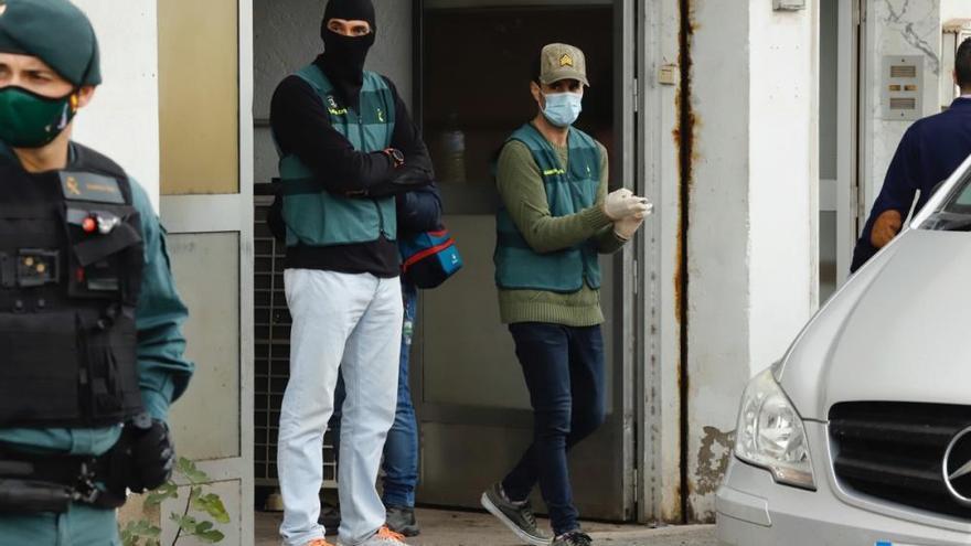 Golpe contra el tráfico de armas y de drogas en Murcia, Mazarrón y Alguazas