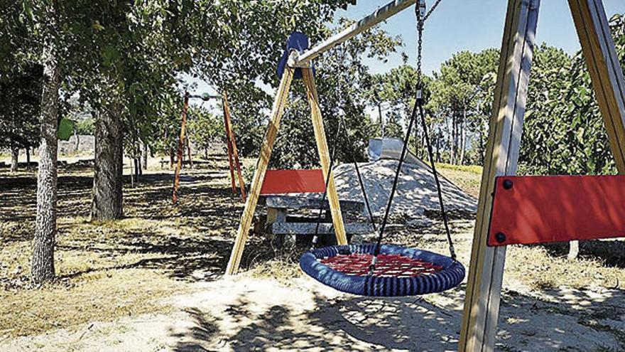 Arbo equipará o Parque Forestal Bouza de Miguel