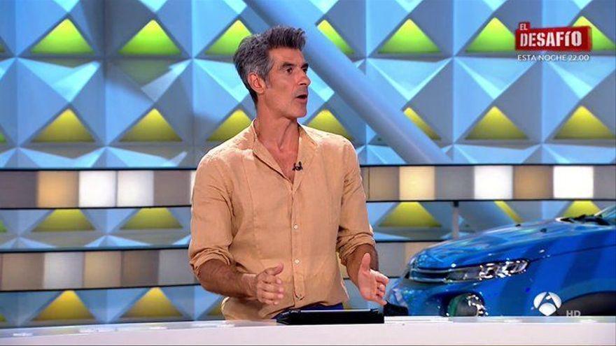 """Jorge Fernández le quita el puesto al cantante de la Ruleta de la Suerte: """"Lo pensaron, pero no la cagué"""""""
