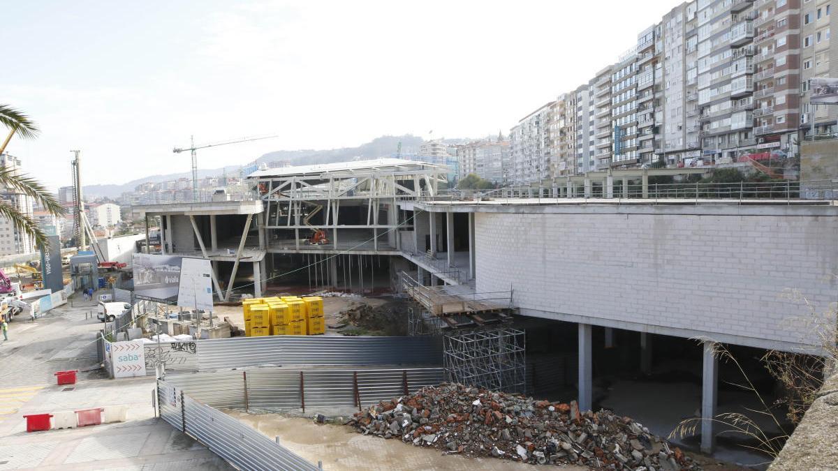 Estado de las obras del Centro Vialia. // Alba Villar