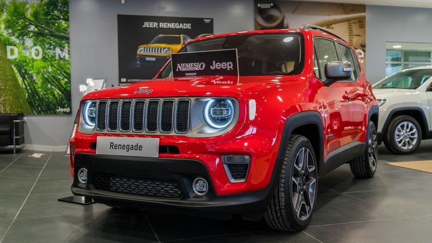 El concesionario oficial de Jeep en Torrent pone a la venta unidades de los nuevos Jeep Renegade y Compass