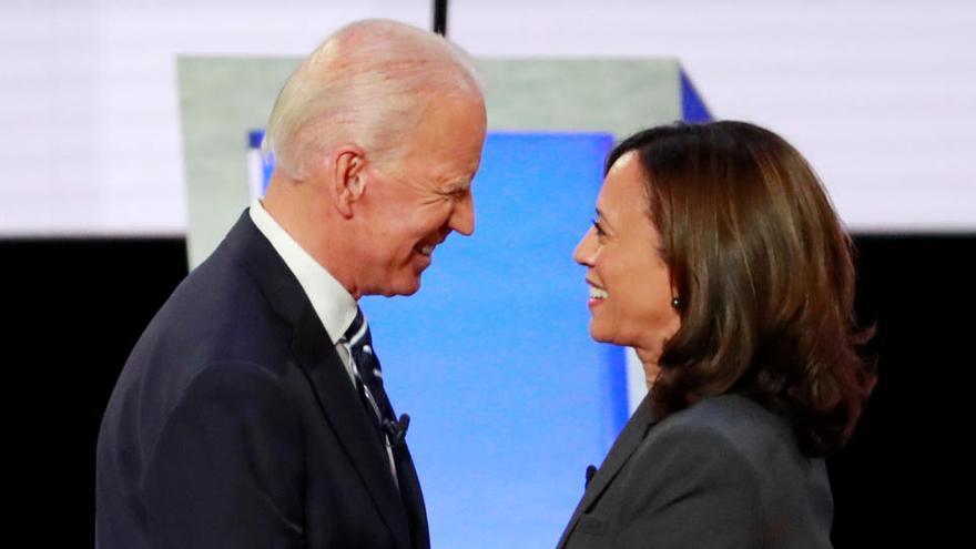 Joe Biden elige a Kamala Harris como su aspirante a vicepresidenta de EEUU