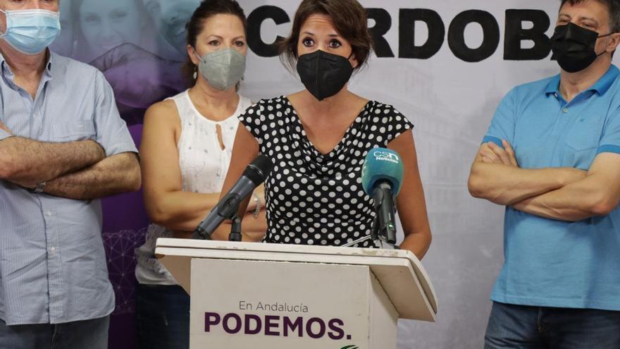 Podemos y el movimiento memorialista suspenden al Gobierno de Moreno Bonilla en materia de memoria democrática