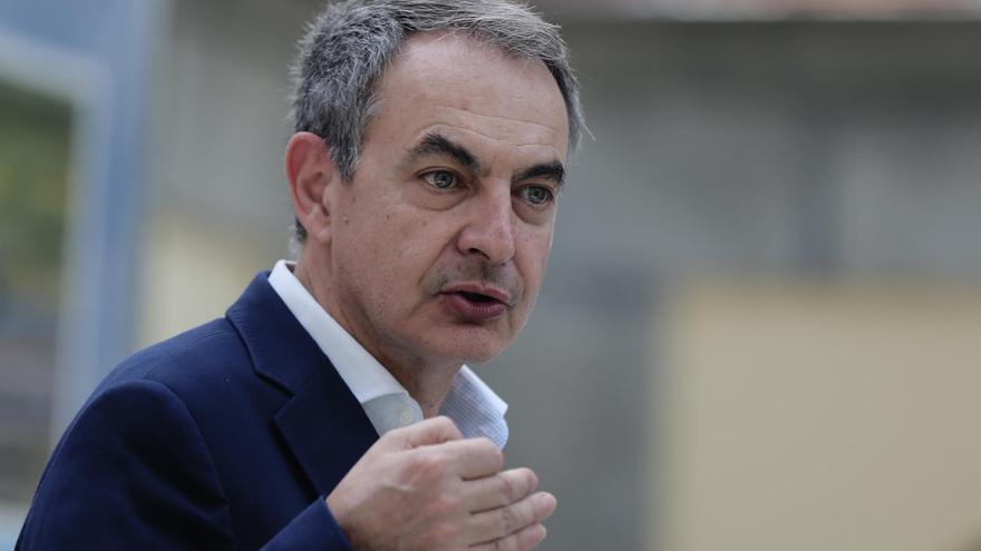 """Zapatero explica que las declaraciones de Junqueras llegan """"antes de lo previsto"""""""