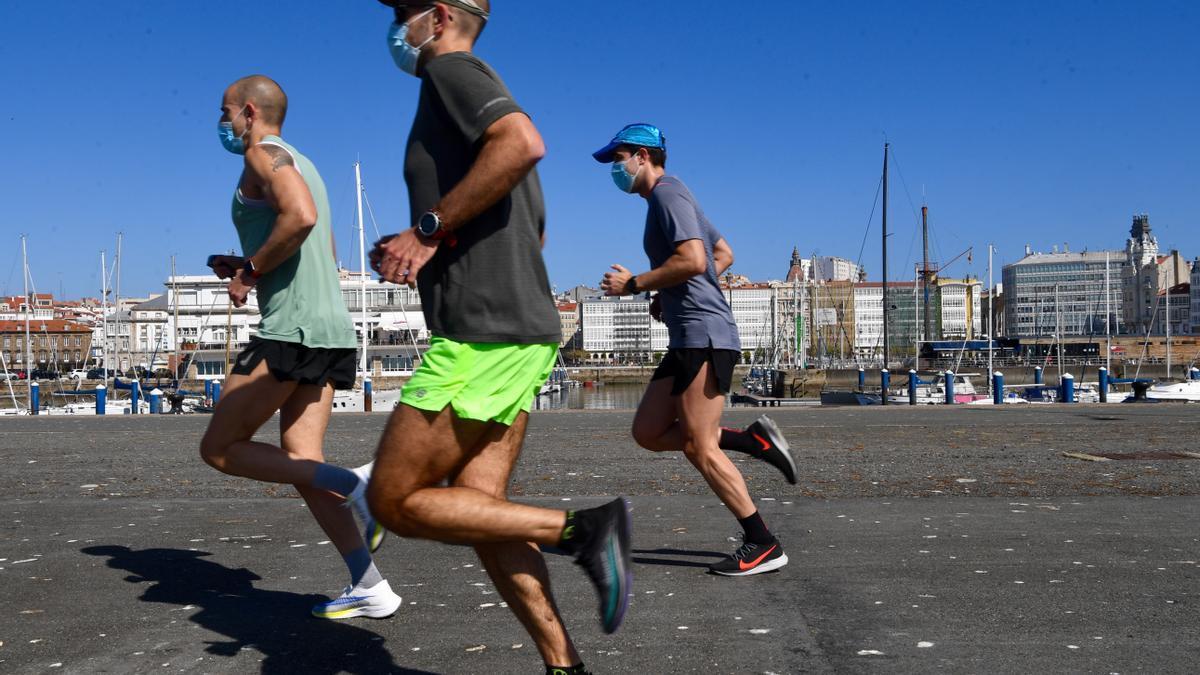 Reapertura del muelle de trasatlánticos de A Coruña