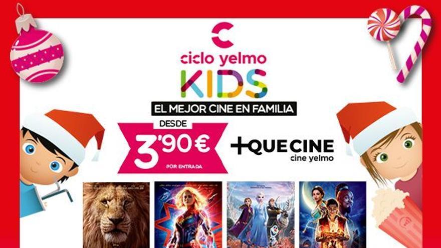 Ciclo Yelmo Kids - La Bella y La Bestia