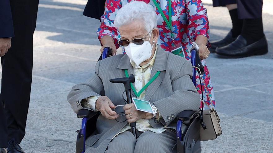 """El mensaje de Araceli en el homenaje de Estado: """"A los jóvenes les digo que respeten la pandemia"""""""
