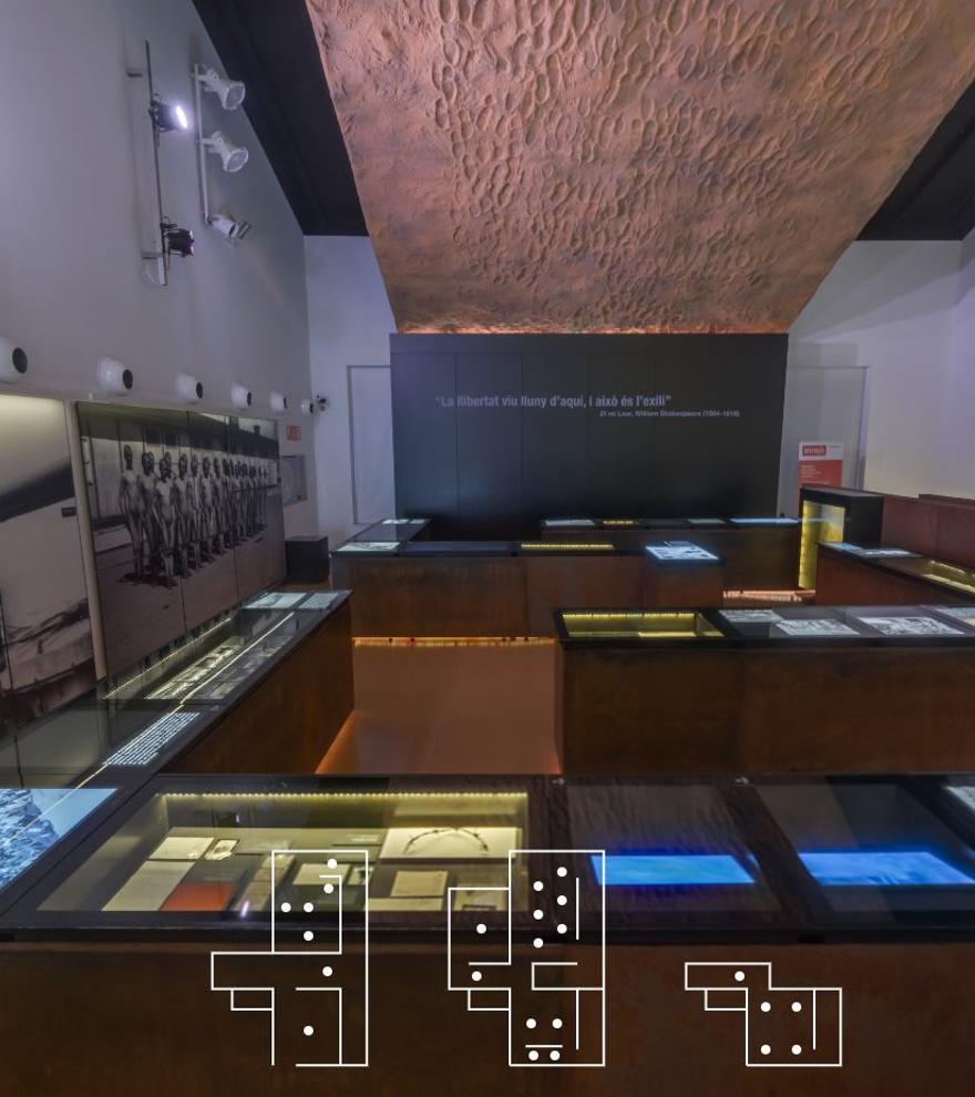 Visita comentada en línia al Museu de l'Exili de la Jonquera
