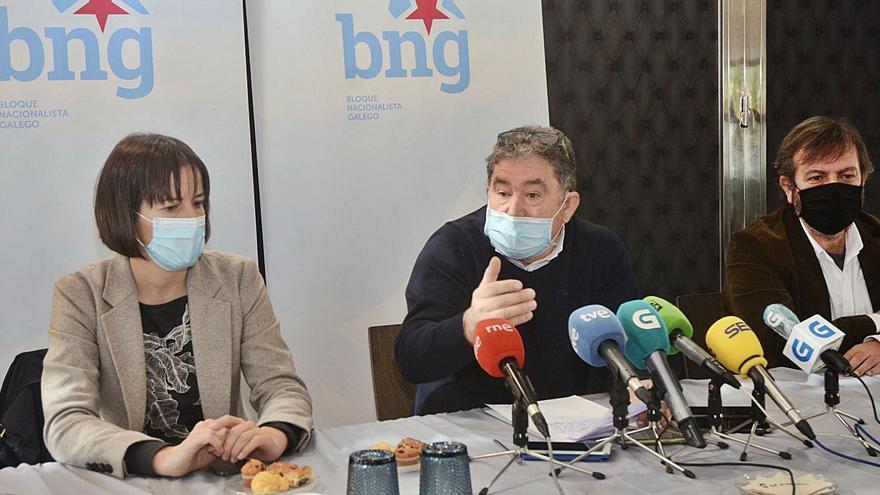 Lores y Pontón ven clave la labor del BNG en las inversiones del Estado en Pontevedra