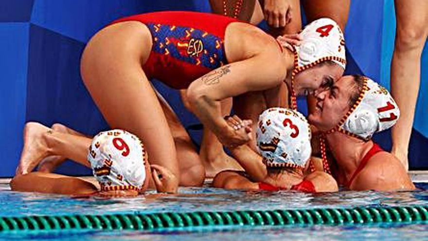 Estats Units i Espanya jugaran la final de waterpolo que ja es va veure el juny a Manresa