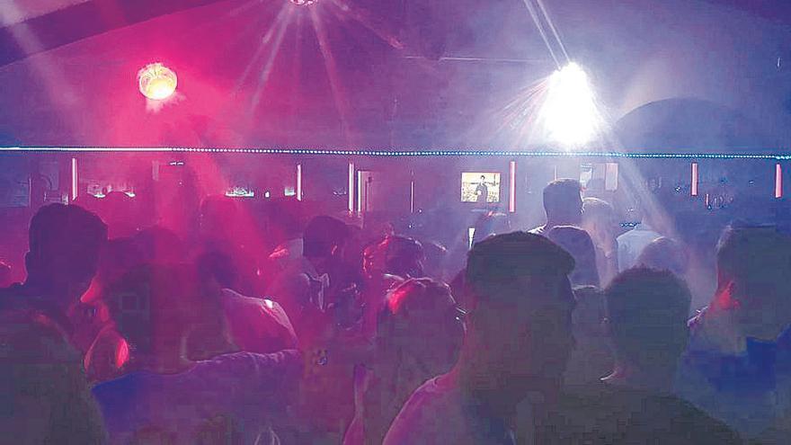 La policía clausura una discoteca en Cala Major por infracciones muy graves de la normativa anticovid
