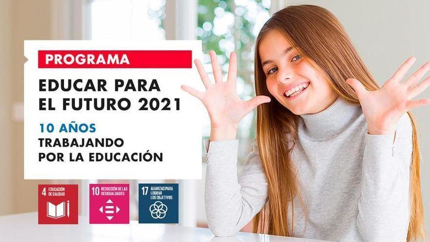 Fundación Ibercaja retoma el programa Educar para el futuro en formato online