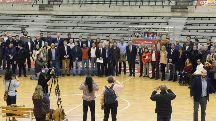 El ayuntamiento de Murcia entrega las ayudas al deporte